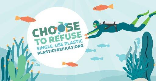 Il Blue Corner di Worldrise: Plastic Free July.